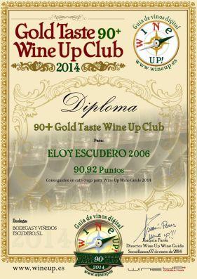 BODEGAS Y VIÑEDOS ESCUDERO 314.gold.taste.wine.up.club