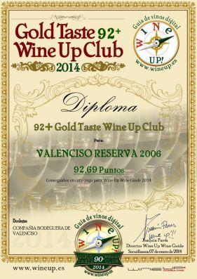 COMPAÑIA BODEGUERA DE VALENCISO 123.gold.taste.wine.up.club