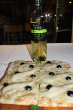 Verum Terra APF y Pizza de Pera y Gorgonzola