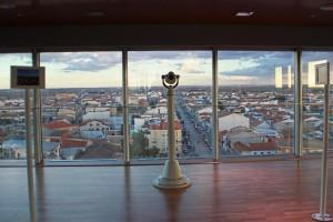 Mirador del museo Torre del vino