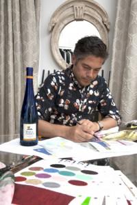 Jorge Vázquez ultima el diseño de la Nueva Edición Limitada de Mar de Frades en su taller