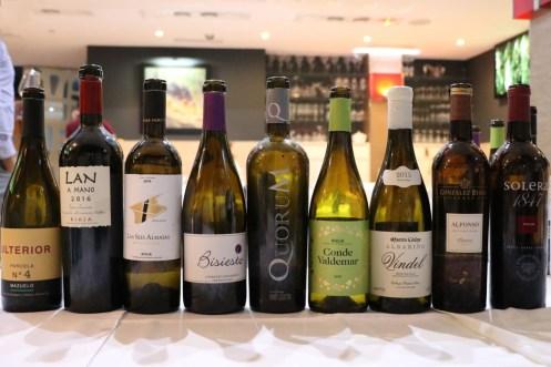 #WineUpTour otoño 2019 vinos catados con ASM