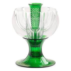 crystalline green wine aerator