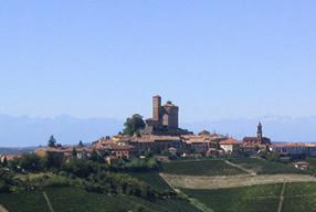 View of Serralunga d'Alba