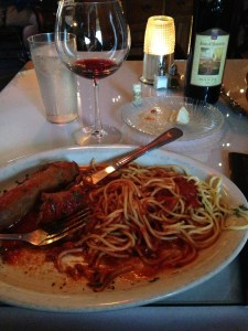 Sausage and Pasta with Banfi Rosso di Montalcino