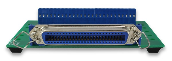 Centronics 50 Pin Rj21 Champ Breakout Board With Screw