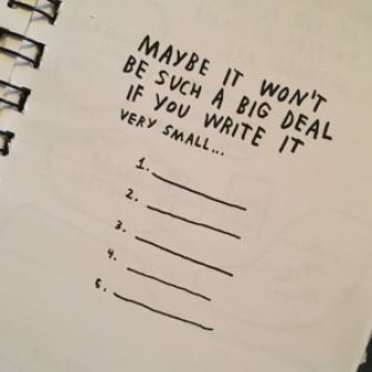 Write goals in a planner to remind yourself what you want to achieve when you save for travel.