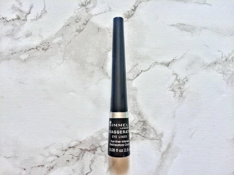 Rimmel London exaggerate black liquid eyeliner Giveaway www.wingitwithjade.com