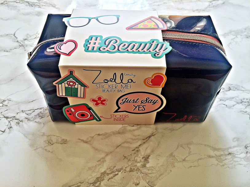 Zoella sticker beauty bag Giveaway www.wingitwithjade.com