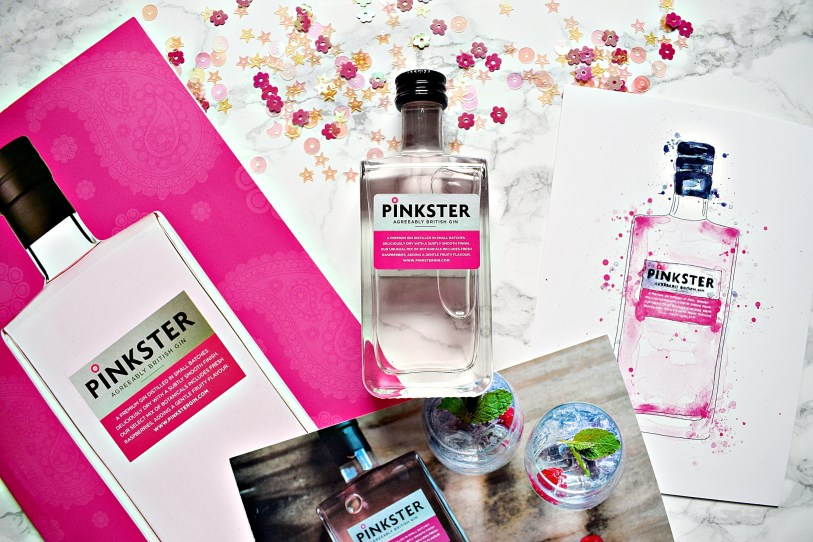 Dinkster Pinkster Gin GG Goodie Bag www.wingitwithjade.com