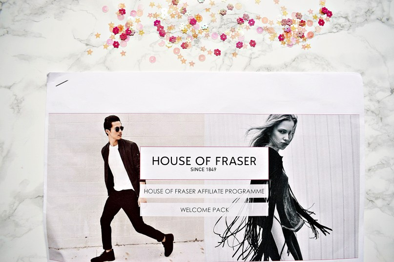 House of Fraser Affiliate GG Goodie Bag www.wingitwithjade.com