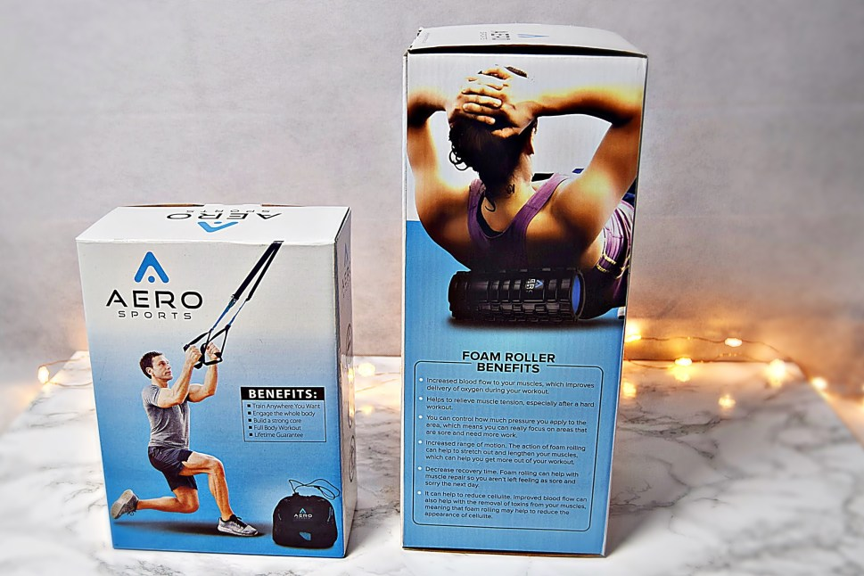Full Body Workout with Aero Sports - boxed up www.wingitwithjade