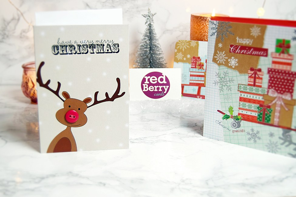Red Berry Cards - The Ely christmas fair 2016 - www.wingitwithjade