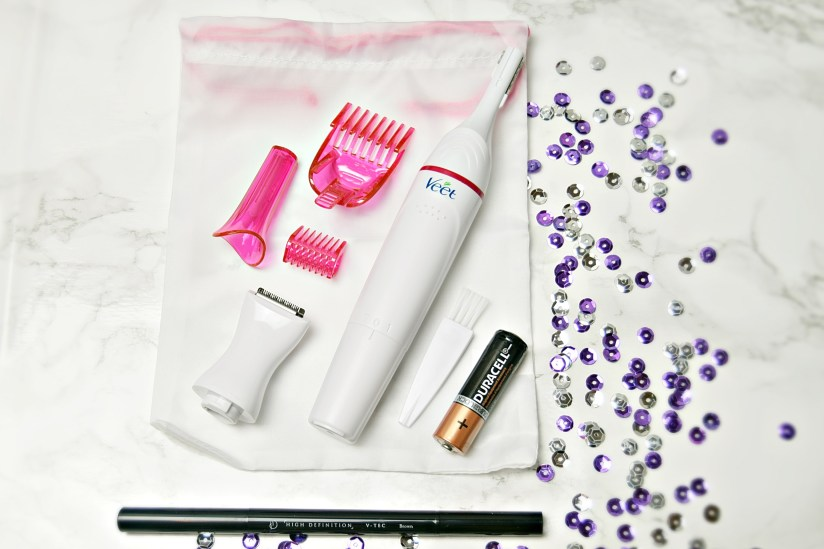 Veet Beauty Styler Full Kit Unboxed - Veet and Scholl party perfect christmas gifts www.wingitwithjade.com