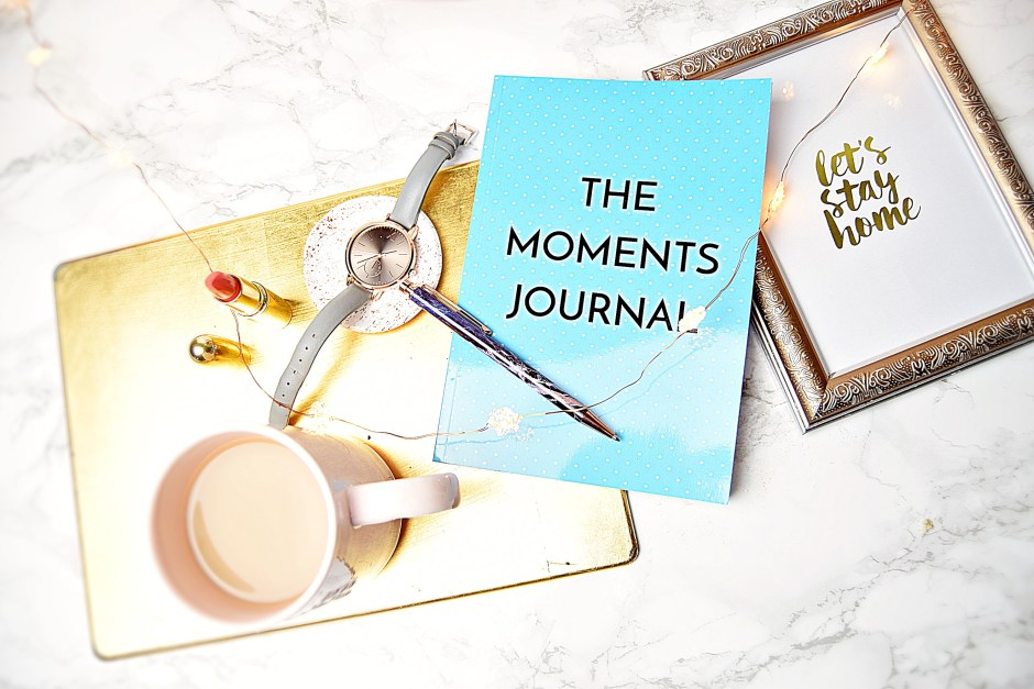 Make Every Day Mattter with The Moments Journal - www.wingitwithjade