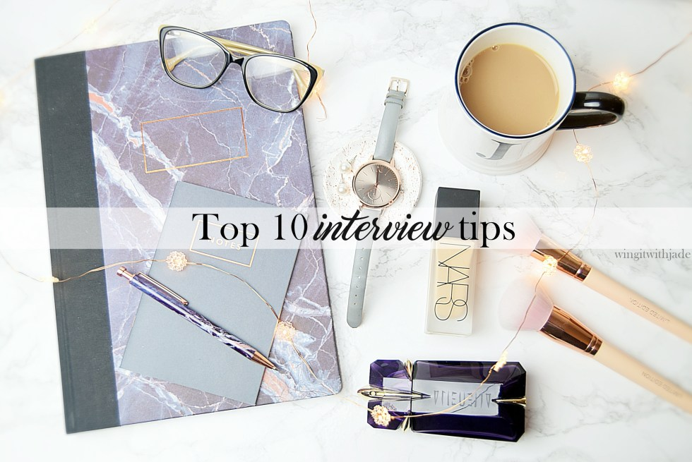 Interview Tips - www.wingitwithjade.com
