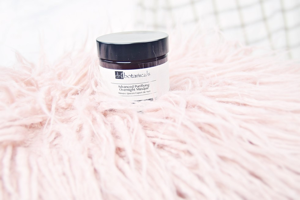 Dr Botanicals Advanced Purifying Overnight Masque with £60 off discount code - www.wingitwithjade