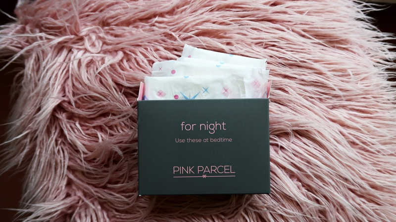 Pink Parcel night pads