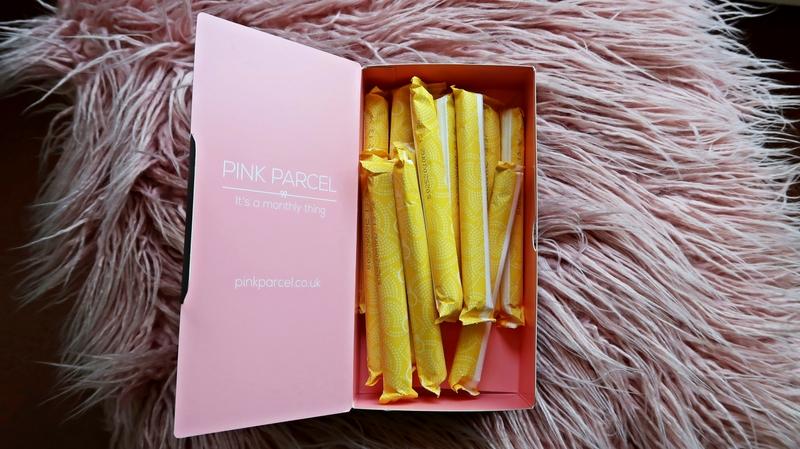 Pink Parcel tampons