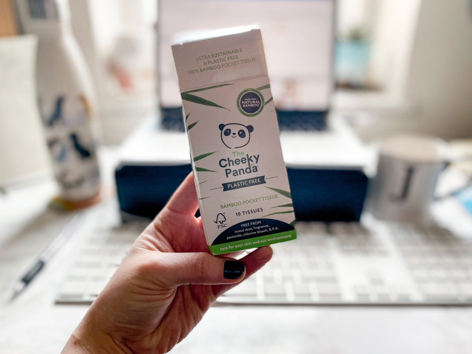 The Cheeky Panda bamboo tissues