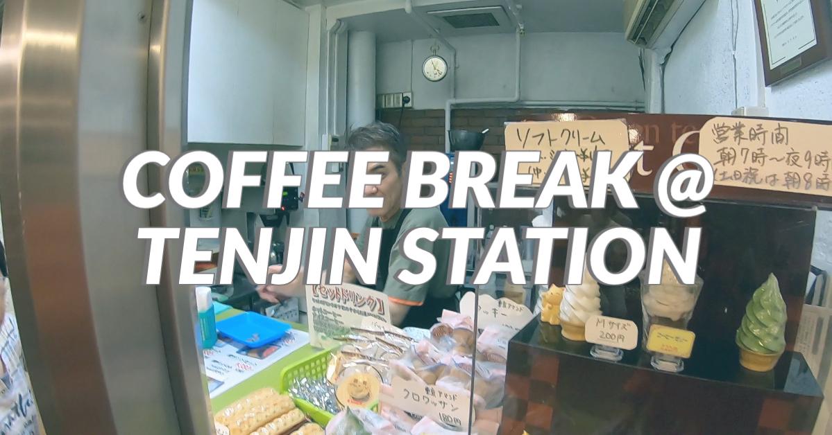 Cafe Tyrol at Tenjin Station