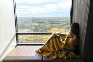 Dormire nel nulla, in un hotel di design in Islanda