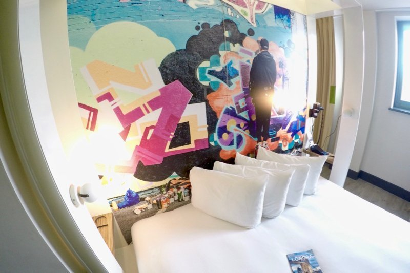 Qbic Hotel Design London Camera