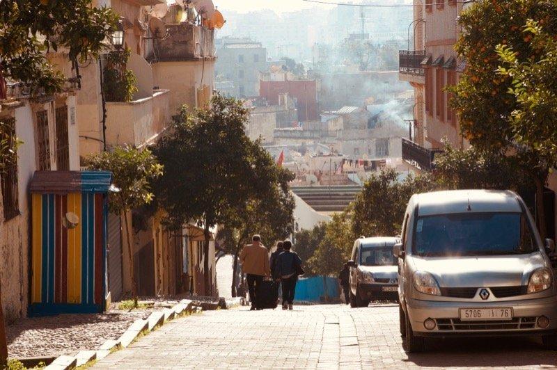 Strade di Tangeri