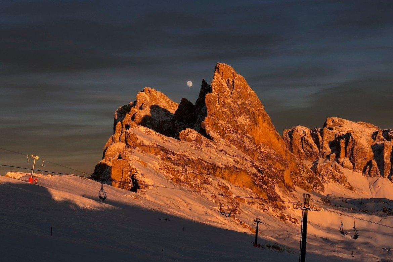 Sciare sulle Dolomiti Seceda