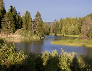 Headwaters of the Snake River