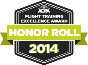 2014 Flight Training Honor Roll