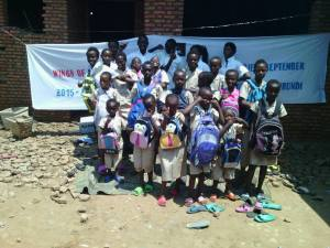 "Wings of Hope for Africa ""Back to School"" program, 2015 - supporting education in Buterere, Burundi"