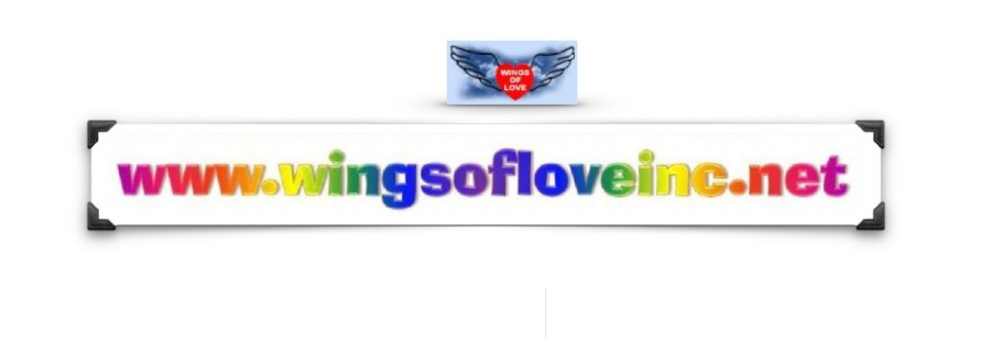 Wings of Love, Inc. promotes good deeds from the heart