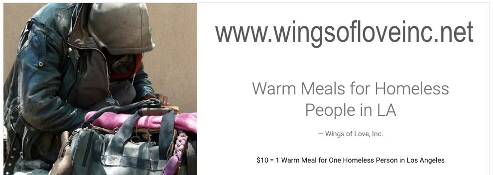 Donate Warm Meals for Homeless People in Los Angeles, California