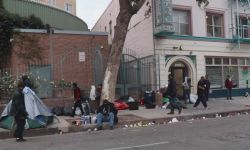 Los Angeles Downtown Homeless People