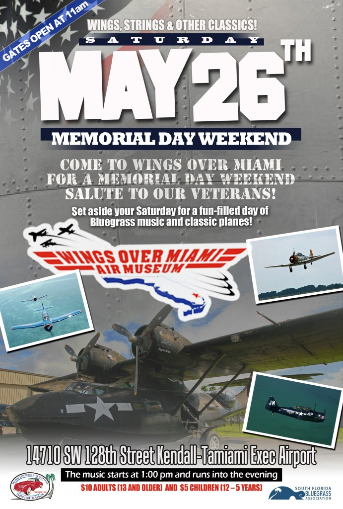 This Saturday, the Wings over Miami Museum is hosting a salute to Veterans during the Memorial Day weekend.