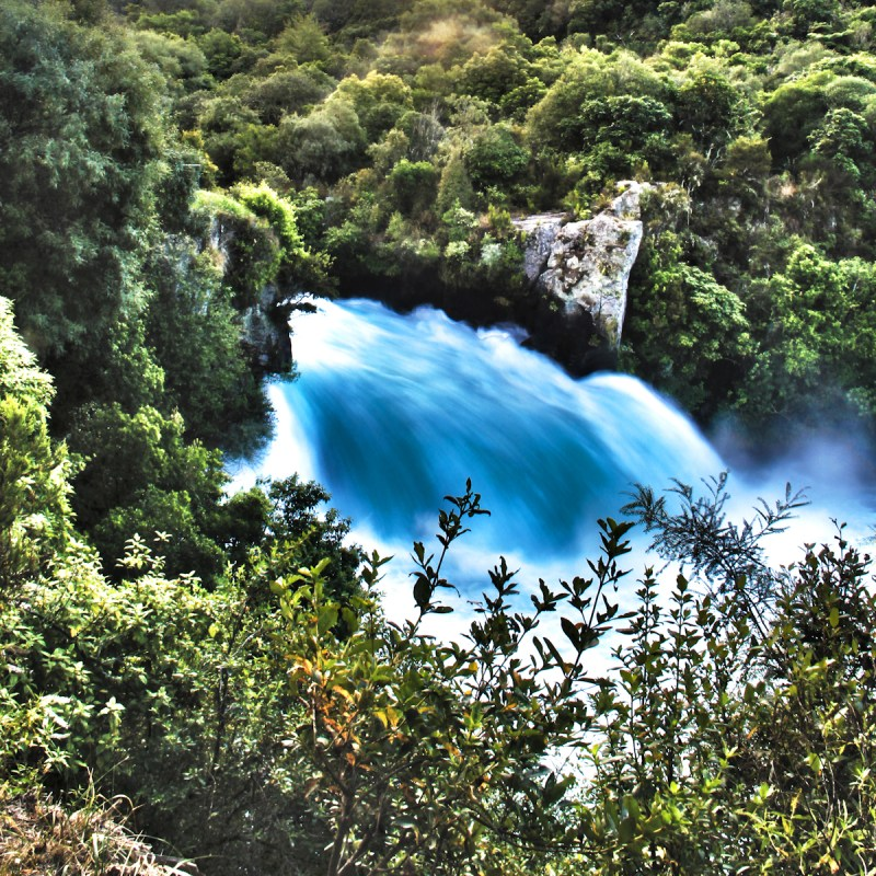 Huka Falls - Taupo - New Zealand - HDR