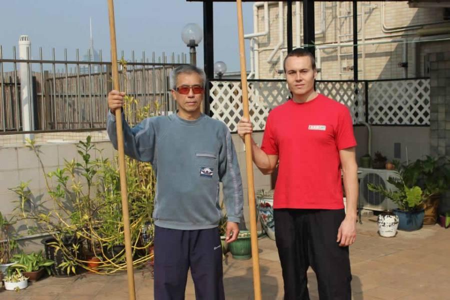GM Michael Tang con Sifu Nicola