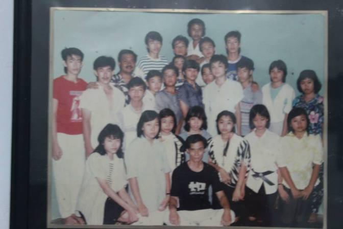 GM Tio Tek Kwi con alcuni suoi allievi