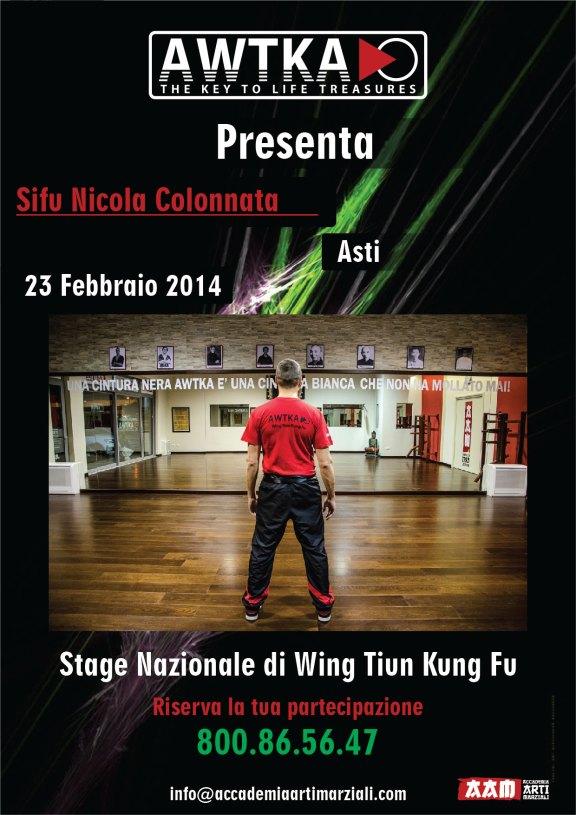Stage Nazionale Sifu asti 2014