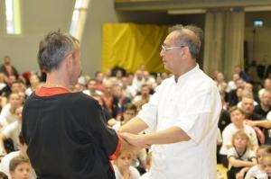 Визит Грандмастера Leung Ting в Венгрию 2018