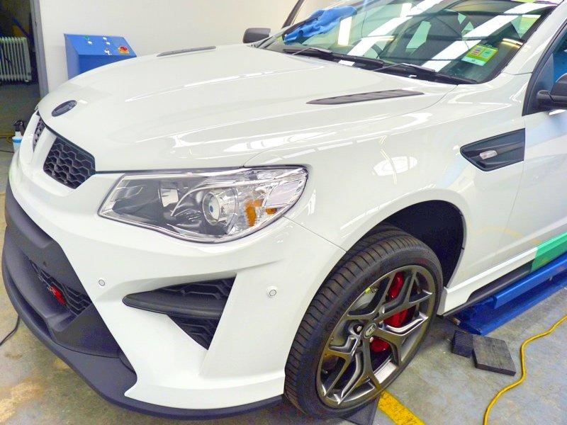 Holden, gts, gtsr, stone chip film, paint protection film, winguard, adelaide, matte paint, matt paint, car bra, custom paint protection film