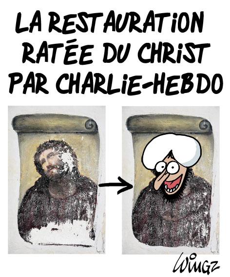 Charlie Hebdo Mahomet Attentat Contre Charlie Hebdo Huit Ans De Caricatures Et
