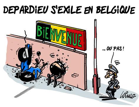 Gérarg Depardieu s'exile en Belgique