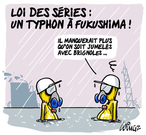 loi des séries, un jumelage fukushima-brignoles