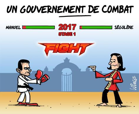 segolene royale au gouvernement Valls