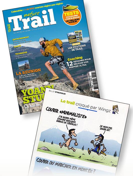 dessinateur trail course à pied dessins humour