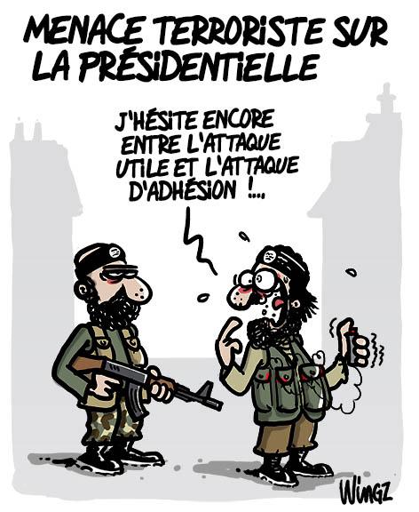 terrorisme dessin humour vote