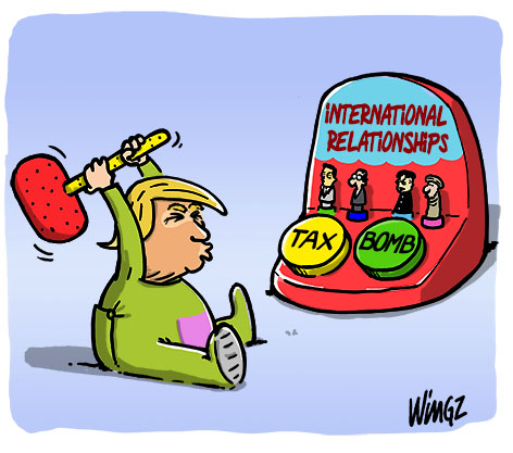 donald trump international relationships