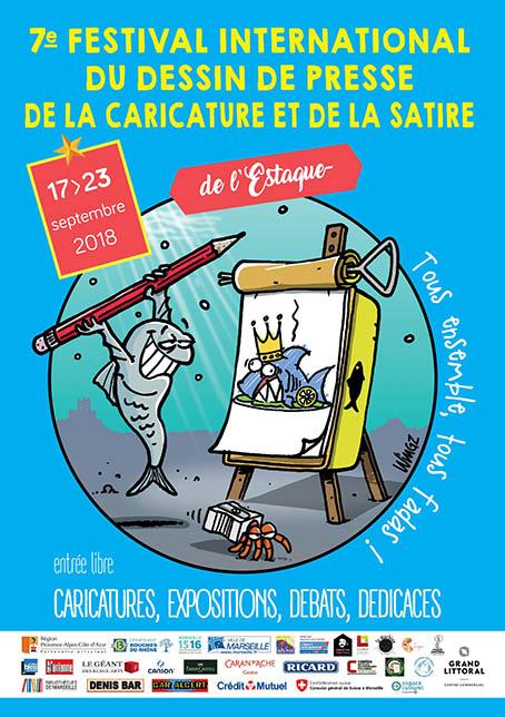 festival de dessin de presse de l'estaque 2018